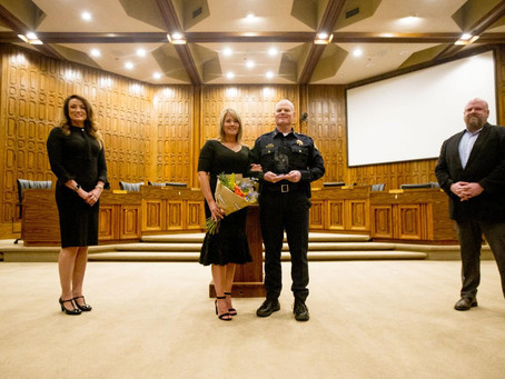 Chief Rich Ferguson is Utah's Police Chief of the Year!