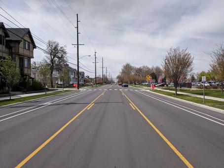 500 N is getting new crosswalks