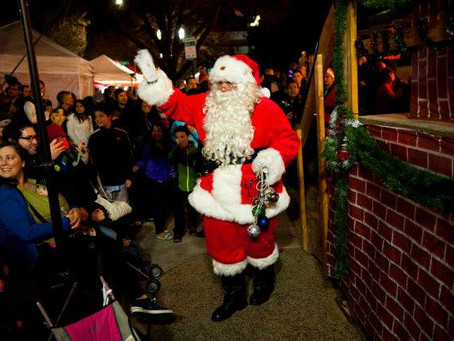 Santa is coming to the City Center!