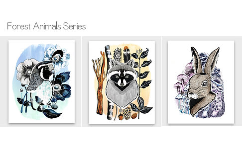Forest Animal Series