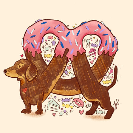 Dog Pretzel - Sticker.JPG