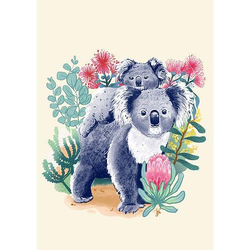 Koala Charity Print