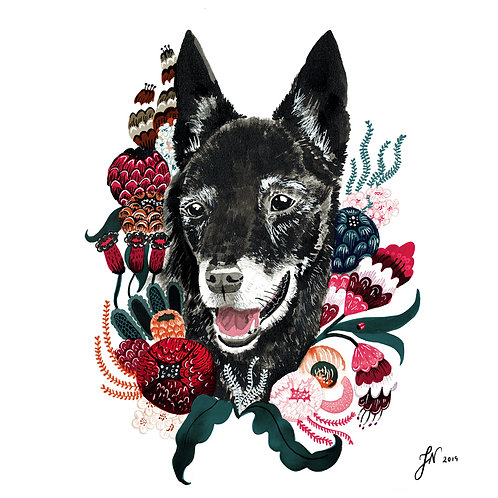 Botanical - Pet Portrait