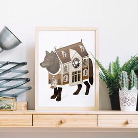 framed dog house print 2.jpg