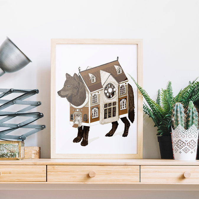 framed dog house print 2.jpg