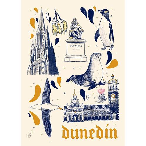 Dunedin - A5 Print