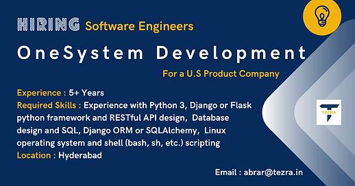 OneSystem Development.png