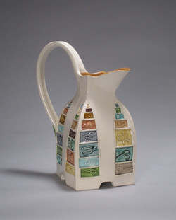 Large Pitcher with Texture