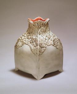 Botanical Encrustation Vase