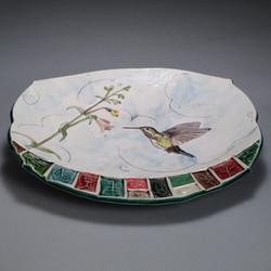 Hummingbird Plate