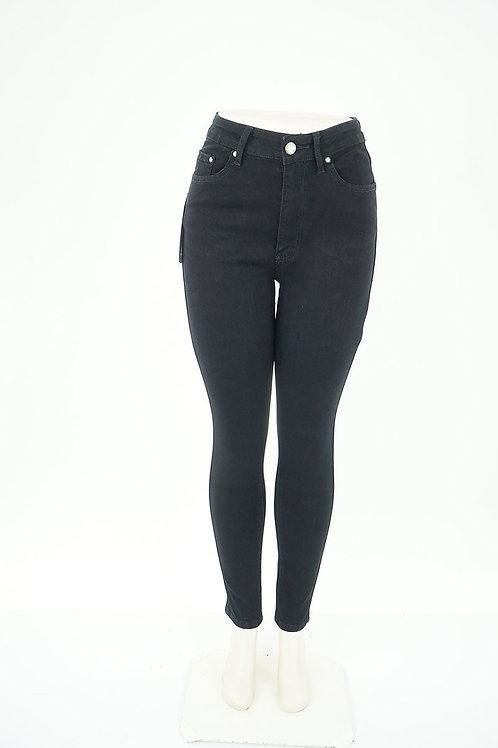 High Waisted Stretch Skinny Jeans