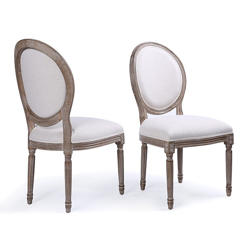 Mr. & Mrs. Head Table Chairs (Pair)