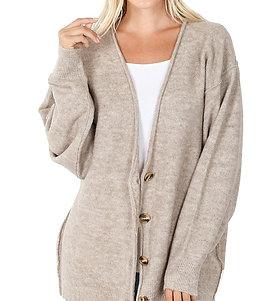 Oversize Cardigan Sweater