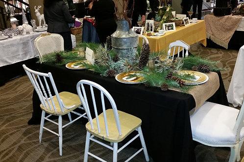 Farmhouse Table & Chairs