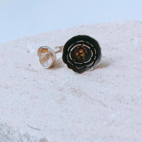 5+2 Experimental Jewellery - Camellia Jewellery Series