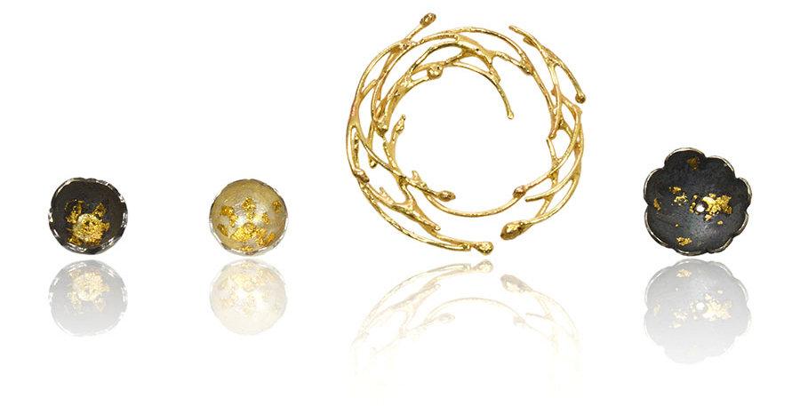 CAMELLIA Earring Set