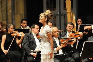 Filippa Giordano en Palacio de Bellas Artes