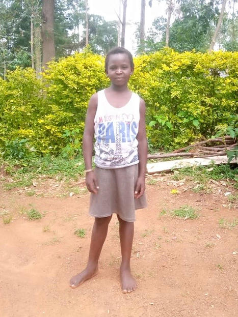 ESTHER AKOTH AGE - 10