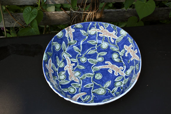 Lizard Party Bowl