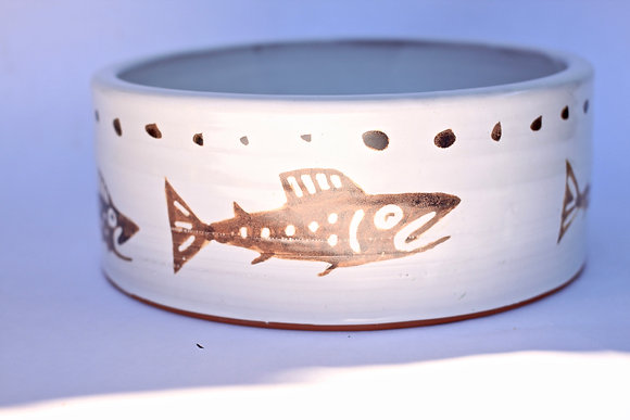 Fish + Dog Bowl