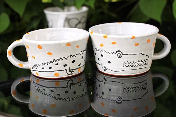 B&0 Wide Gator Mug