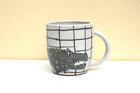 Gator Grid Mug