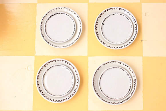 Speckled Scribble Dinner Set