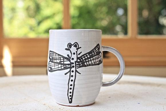 Black Dragonfly Mug (second)