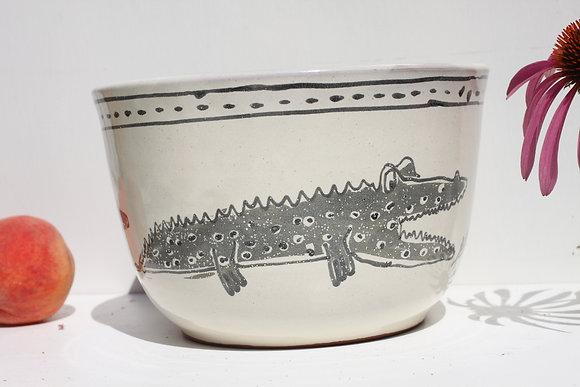 Gator Serving Bowl