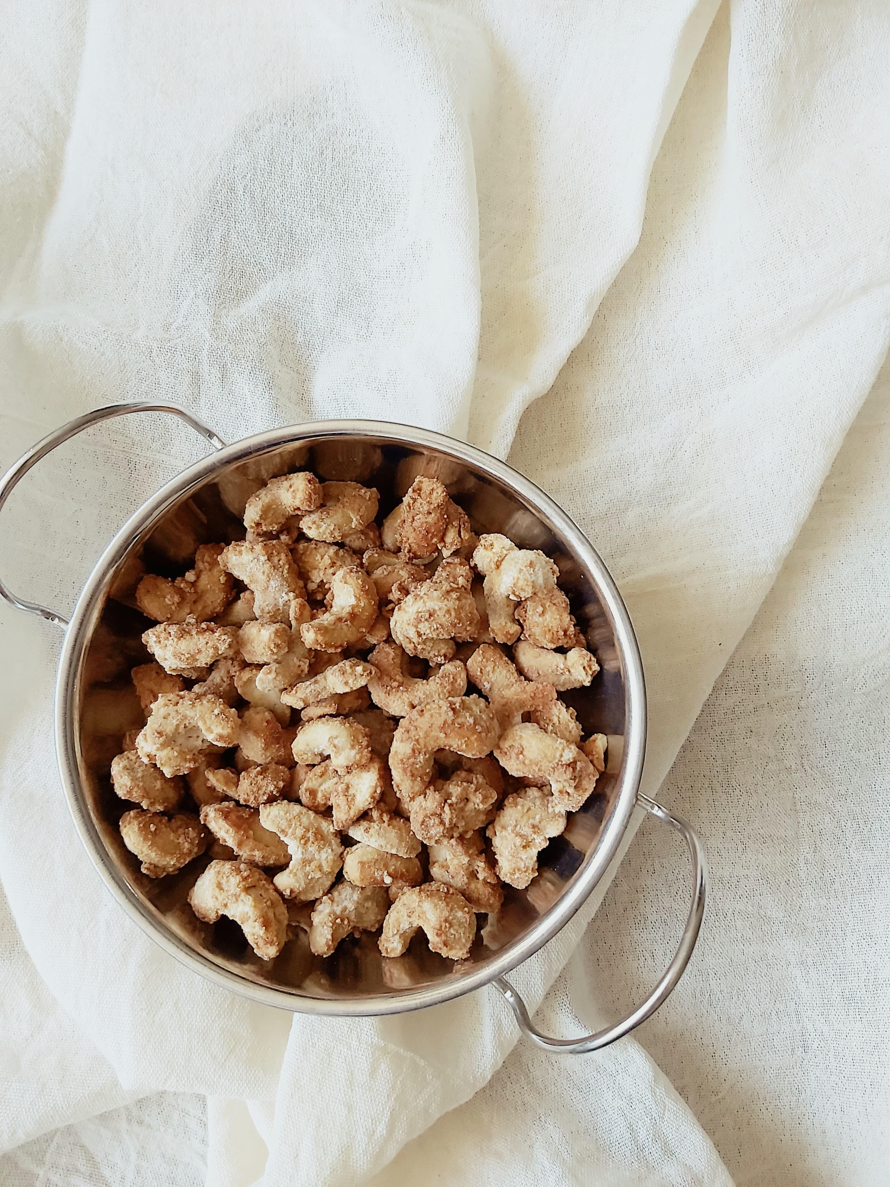 Cashew confitado