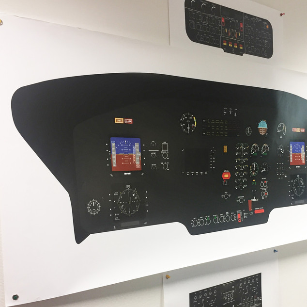Cockpit poster AS365 N3