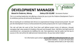 Finderne Development Trust Seeking new Development Manager
