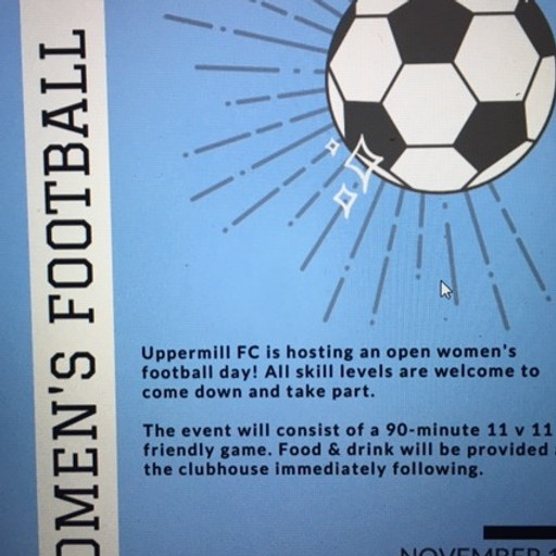 Girls and Women's Football Day (PM)