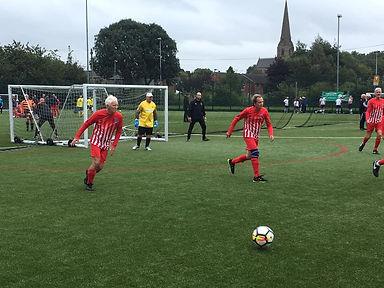 walking football 1st league match 12.9.1