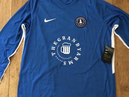 New Walking Football Kit