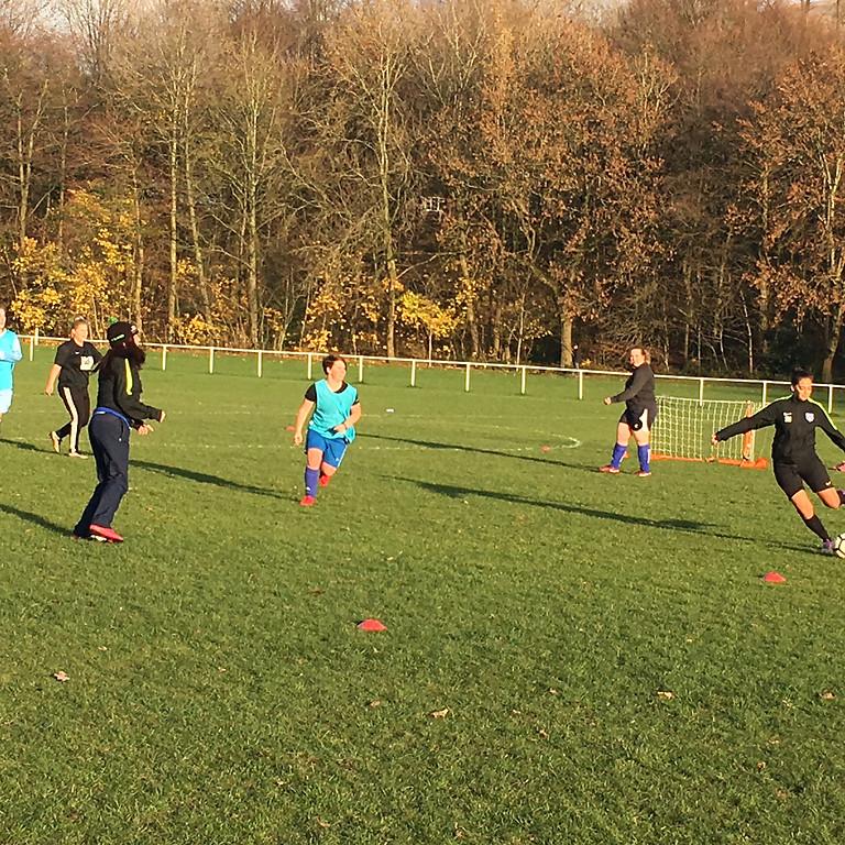 New Open Age Ladies 5 x 5 Training