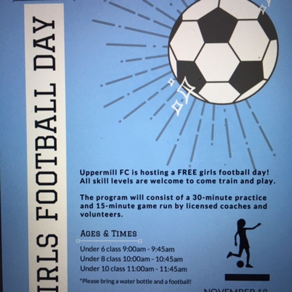 Girls and Women's Football Day (AM)