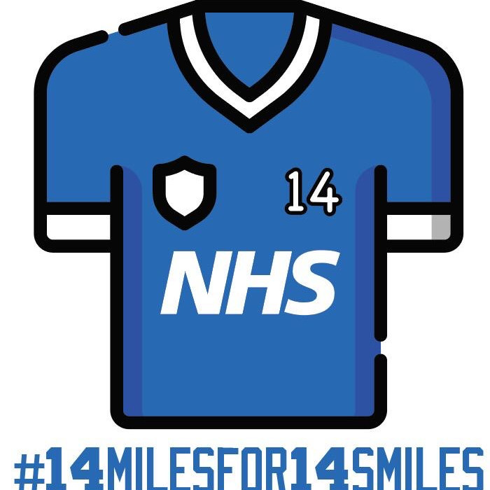 14 Miles for 14 Smiles