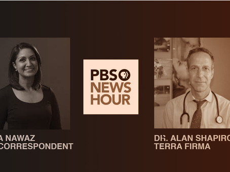 PBS Newshour's Amna Nawaz interviewed FLORES expert Dr. Alan Shapiro on US detaining children