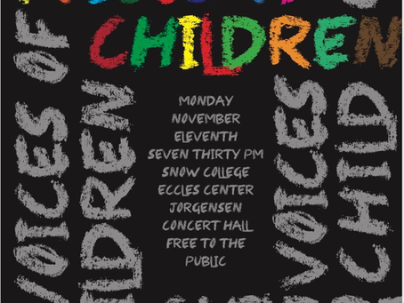 Concert on November 11: Voices of Children