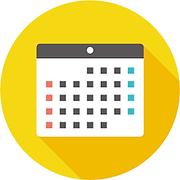 サロンのお休みのカレンダー画像
