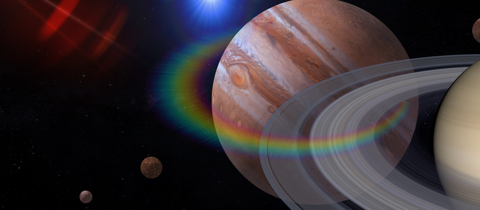 Cosmic Consciousness: The Great Conjunction of Jupiter + Saturn 2020