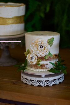 Chocolate sculpted florals