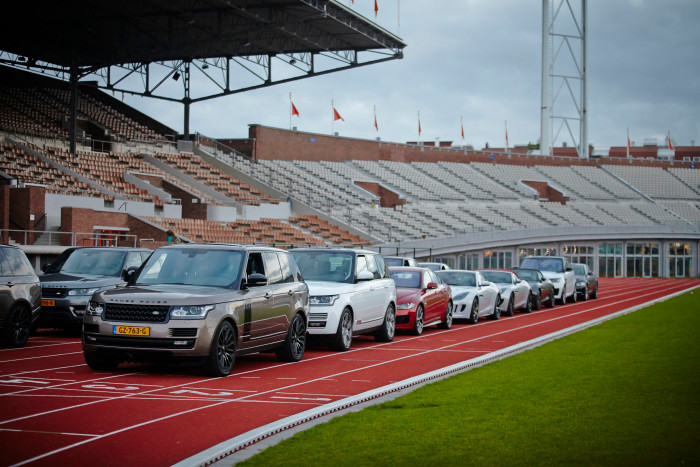 D&B The Mobility Group auto's Olympisch Stadion