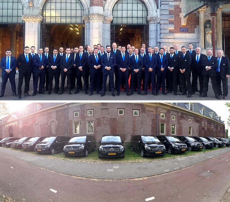 Chauffeurs & Auto's Klantevenement Amsterdam - D&B The Mobility Group