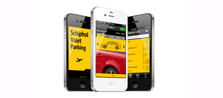 Schiphol Valet Parking App - D&B The Mobility Group