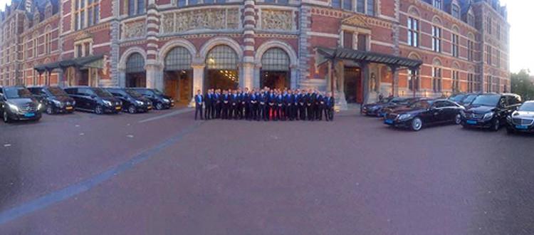 Klantevenement in Amsterdamse binnenstad - D&B The Mobility Group