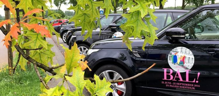 D&B The Mobility Group verzorgt koninklijk ontvangst op Paleis Soestdijk