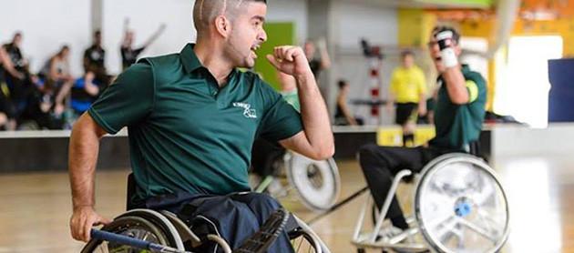 D&B The Mobility Group Sponsor van Rolstoelhockey