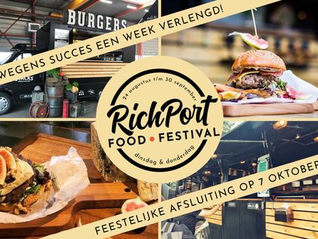 RichPort Food Festival verlengd / extended!